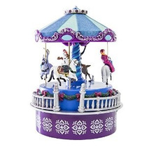 Disney Congelado Mini Carrusel - Versión Wind-up (4 1/2 De