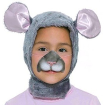 Tamaño Forum Novelties Niño Animal Costume Ratón Hood Y La M
