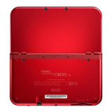 Nintendo New 3ds Xl Standard Rojo Metálico