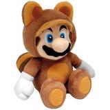 Peluche Mario Bros Tanooki Nuevo Original Envio Gratis