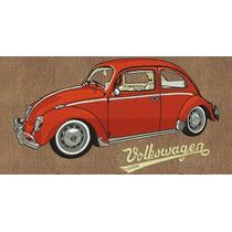 Ponchados Wilcom Volkswagen Vocho Clásico + Ponchado Gratis!