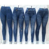 Leggins Sublimada Tipo Jeans, Unitalla!!