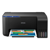 Impresora A Color Multifunción Epson Ecotank L3110 110v Negra