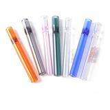 12 Pi.pas Tubos De Cristal Con Filtro Tipo Chillum Para Fuma
