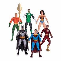 Justice League Alex Ross 6 Figuras Dc Collectibles Nuevo !!!