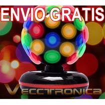 Envio Gratis Esfera Rotativa 360° Con Rayos Rgb Genial Vecct