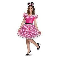 Glam Minnie Del Traje De La Mujer Disfraz