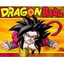 Kit Imprimible Dragon Ball, Invitaciones Y Cajitas