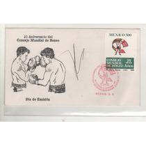 No.13-sobre Primer Día Cmb Autografo De Julio Cesar Chavez