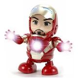 Dance Hero Iron Man Baila Robot Marvel Envío Gratis Juguete