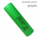 Pila Batería Recargables Samsung 18650 3.7v 2500mah Original