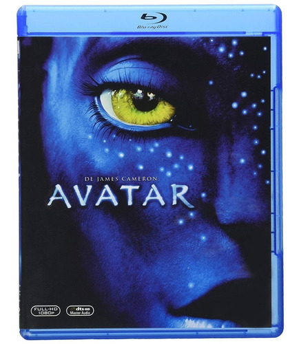 Avatar James Cameron Pelicula Bluray
