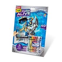 Crayola Color Alive Acción Para Colorear - Skylanders