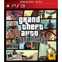 Grand Theft Auto San Andreas (gta) + Call Of Duty Ghosts Ps3