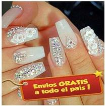 6436ebebe99 Pedreria Cristal Swarovski Decoracion Uñas Acrilico Gel Ropa en ...