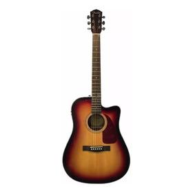 Fender Guitarra Electroacustica Cd-140sce Con Estuche.