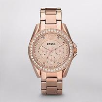 Reloj Fossil Dama Riley Multifunction Es2811 | Watchito