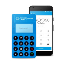 Mercado Point Blue Lector De Tarjetas Con Conexión Bluetooth