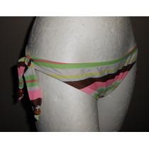 Xhilaration! Moderna Pantie De Bikini Rayas Colores, Talla S