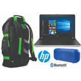 Combo Hp Laptop A9 8gb 1tb +bocina Bt +backpack Meses S/int.