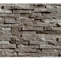 Papel Tapiz Moderno Piedra Ladrillo Texturizado Lavable 15m2 En