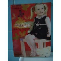Mallas Para Niña Delgadas Blanca Calada 2/3 Lindas Sp0