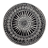 Tapete Decorativo Mandala Nandi 120 Cm Diámetro - Nuevo!
