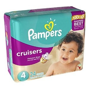 Image result for Pampers Swaddlers or Cruisers 24 ct
