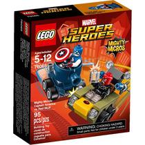 Lego Super Heroes Mighty Micros Capitan Vs Skull Mod 76065
