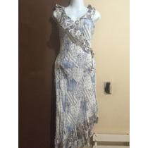 30/hermoso Vestido Spaguetti Tipo Sirena P/ Fiesta Primveral