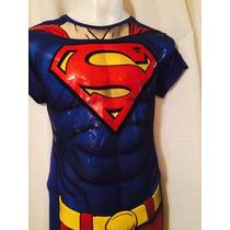 Playera De Superman Licra