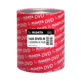 100 Dvd Ridata Virgen 4.7 Gb 16x Facturado Precio Neto