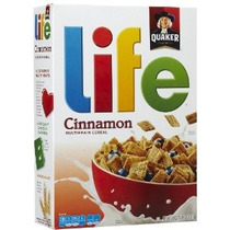 Cereal Quaker Vida Canela Multigrain 18 Oz Cereal Box (pack