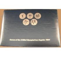 Set Conmemorativo De Monedas Juegos Olímpicos Los Angeles 84