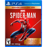 Spiderman Goty Edition Latam - Ps4