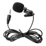 Micrófono De Solapa Lavalier Con Jack 3.5mm