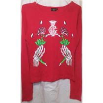 Christian Audigier Camiseta Talla Grande Remate Ampa101