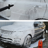 Lanza Alta Espuma Lavar Auto Jabon Shampo Nieve Presion Foam