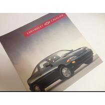 Chevrolet Cavalier 1995 Folleto Publicitario