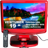 Televisor 19 Pulgadas Con Reproductor Dvd Incluido Pantalla