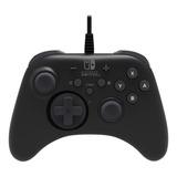 Control Joystick  Hori For Switch Negro