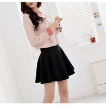 # Mini Falda Sketer Cintura Alta Plisada Unitalla #
