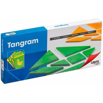 Tangram Doble Cayro Juego Infantil Didáctico Motriz 123-d
