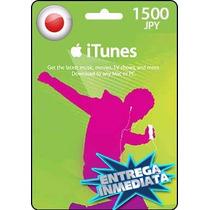 Tarjeta Gift Card Itunes Japon ¥1500 Para Iphone Ipad Ipod