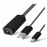 Lanmu - Adaptador Ethernet Para Tv Stick (2ª Generación), Ch
