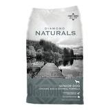 Alimento Diamond Naturals Perro Senior Pollo/huevo/avena 8.16kg