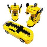 Carro Robot Transformer Super Robots * Pila Incluida *