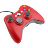 Control Usb Alambrico Para Xbox 360 Y Pc 4 Colores Gamepad