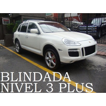 Porsche Cayenne Turbo 2008 Blindada Nivel 3 Plus Recibo Auto
