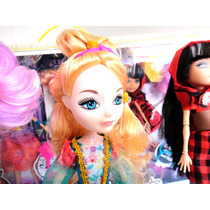 5 Muñecas Movibles Y Accesorios Tipo Monster High Barbie